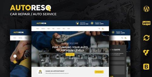 ThemeForest - Autoresq v2.1.3 - Car Repair and Auto Mechanic WordPress Theme - 22307663