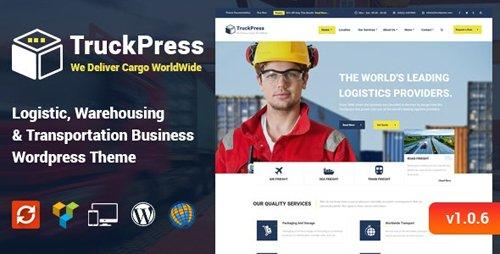 ThemeForest - TruckPress v1.0.6 - Logistics & Transportation WP Theme - 15261867