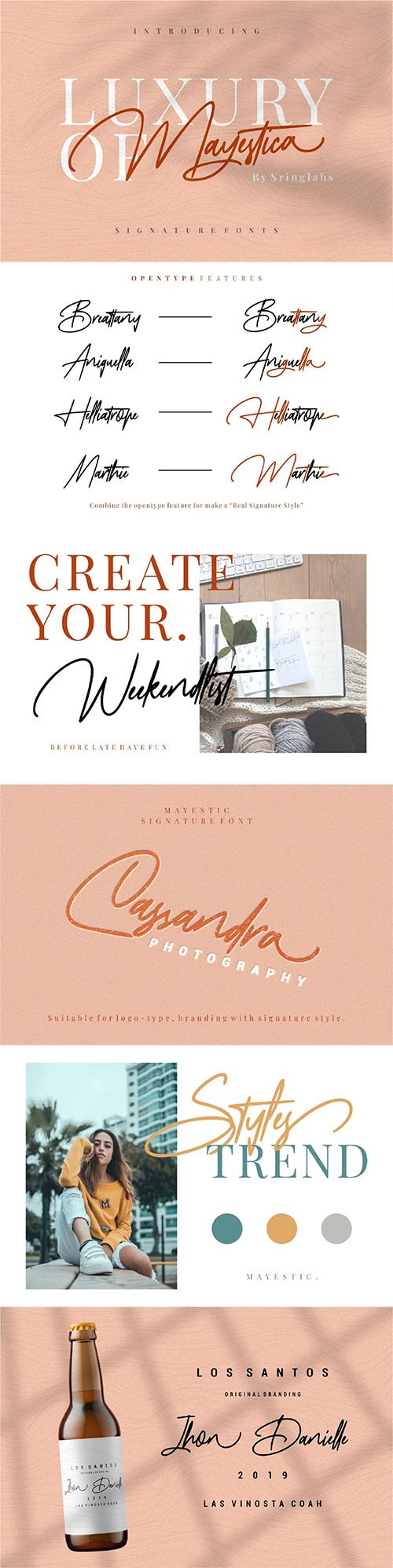 Mayestica - Luxury Signature Font