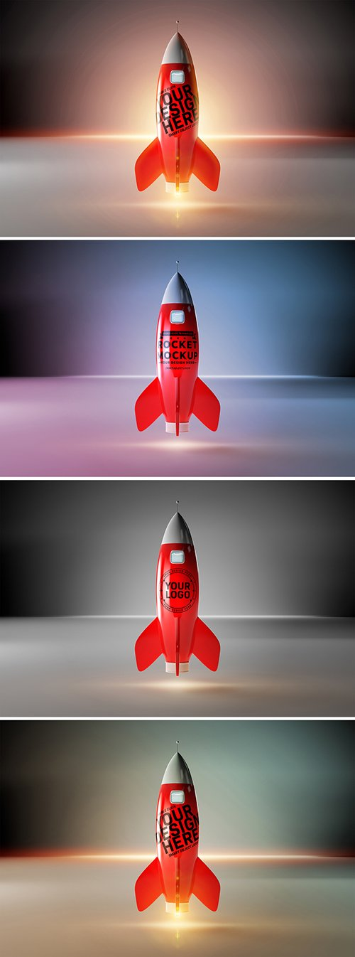 PSDT Red Rocket Mockup 236160125