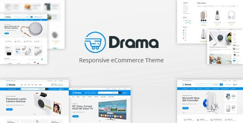 ThemeForest - Drama v1.0 - Responsive Prestashop Theme - 24287165
