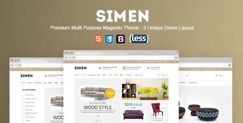 ThemeForest - SNS Simen v1.0.1 - Responsive Magento Theme - 12804229
