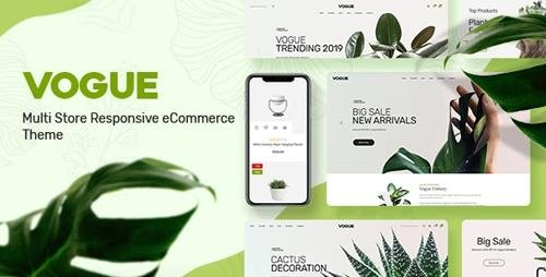ThemeForest - Vogue v1.0 - Plant Store Opencart Theme (Included Color Swatches) - 24255837