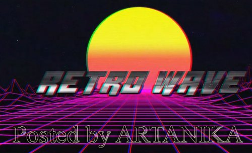 Retro Wave Title 241527