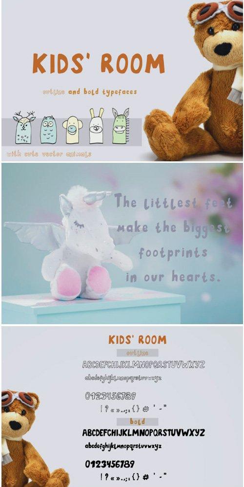 Kids Room Font