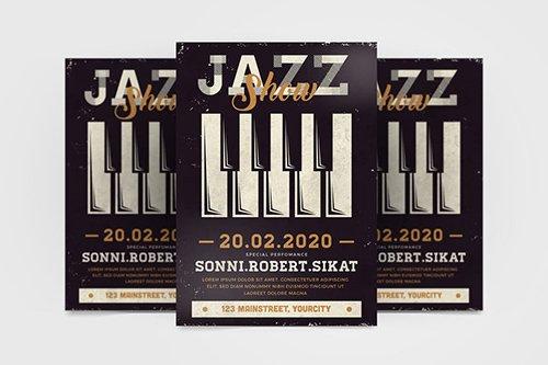 Jazz Show Flyer