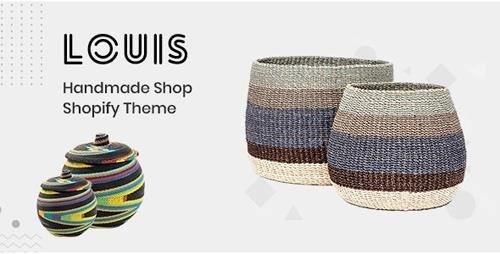 ThemeForest - Louis v1.0.0 - Handmade & Craft Shopify Theme - 24421945