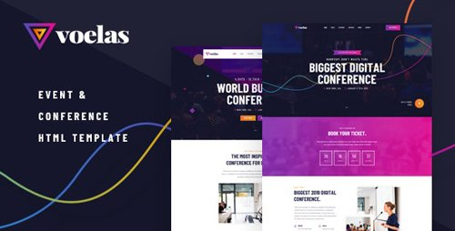 ThemeForest - Voelas v1.0.0 - Event & Conference HTML Template - 24417559