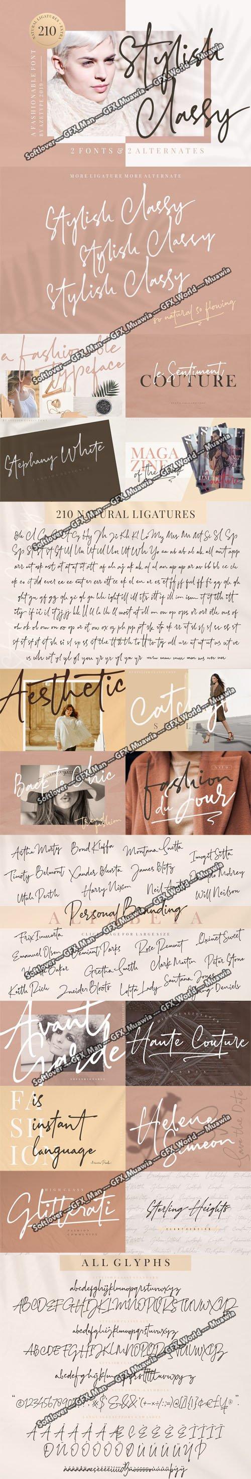 Stylish Classy Font