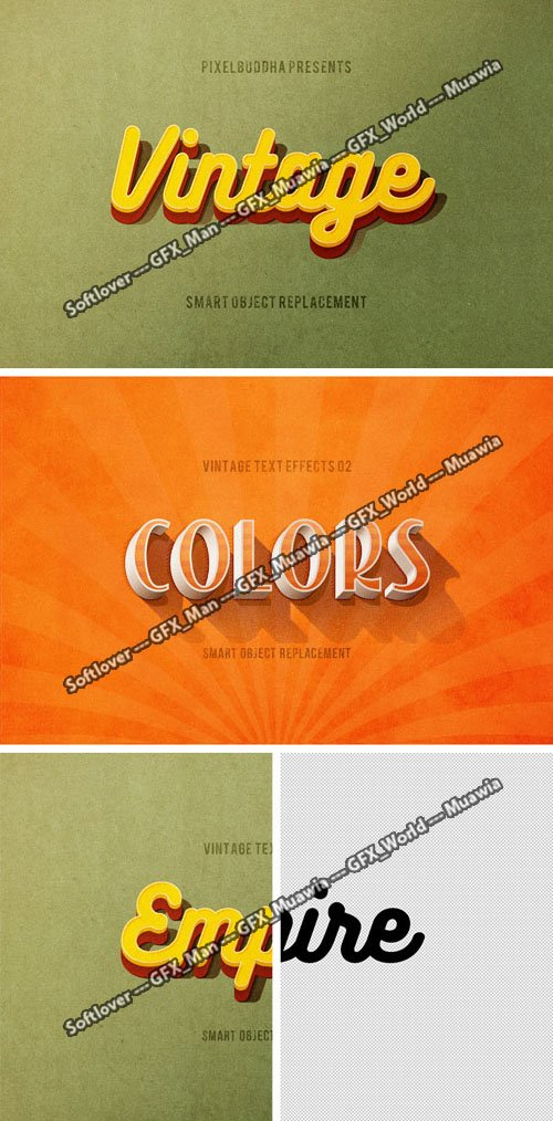 Two Epic Text Effects for Photoshop