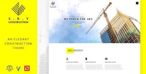 ThemeForest - Construction v1.5 - Building WordPress - 19269264