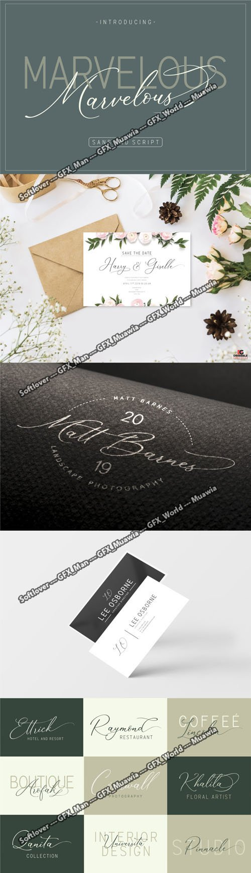 The Marvelous Font
