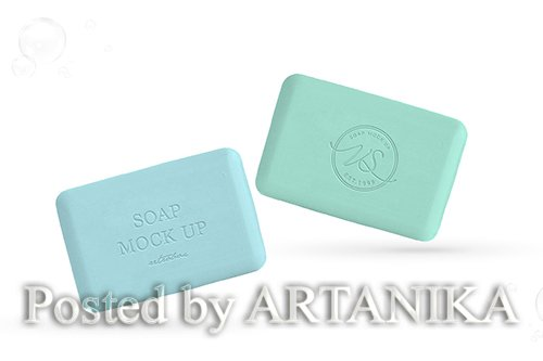 Soap Bar Mock Up