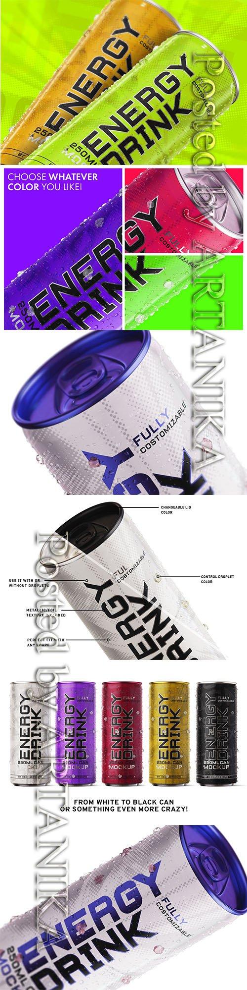 Energy Drink Mockup 3969694