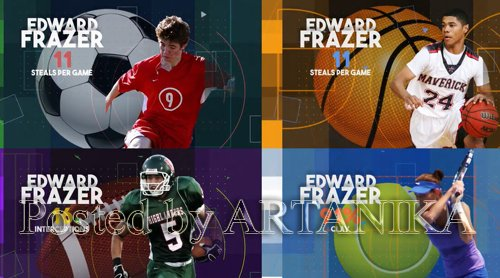 Four Sports Graphics Pack 262925