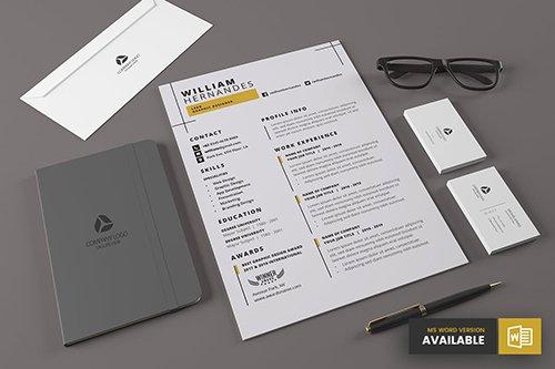 Minimal Resume Template v.6