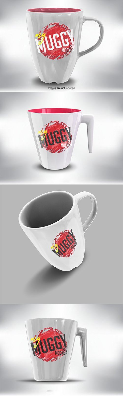 White Mug Mock up Pack