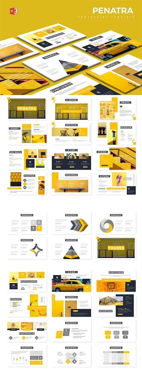Penatra - Powerpoint, Keynote and Google Slides Templates