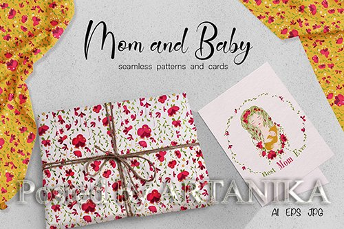 Mom and Baby Pattern
