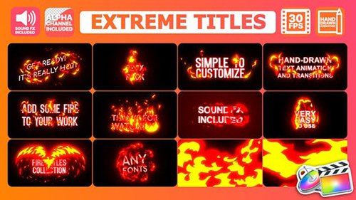 Extreme Titles   FCPX 24508053