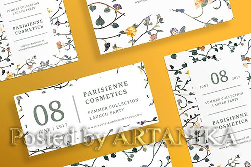 Cosmetics Brand Flyer and Poster Template