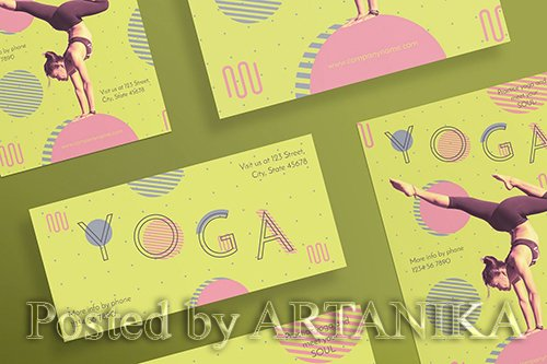 Yoga Workout Flyer and Poster Template