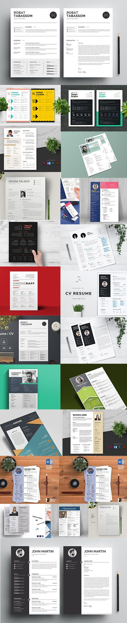 Business CV / Resume Template Pro Super Pack