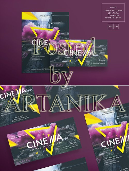 Cinema Club Flyer and Poster Template