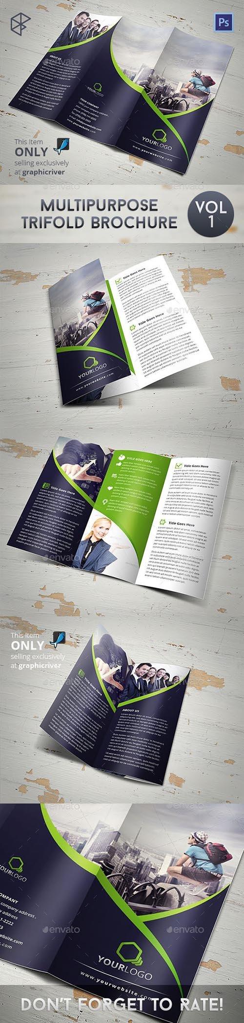 GR - Multipurpose Trifold Brochure 8045479