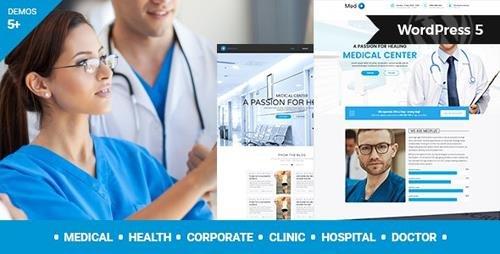 ThemeForest - MedPlus v1.2.1 - Medical & Health WordPress Theme - 17458622