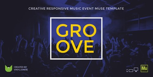 ThemeForest - Groove v1.0 - Music Event / Party / Festival Responsive Muse Template - 18502890