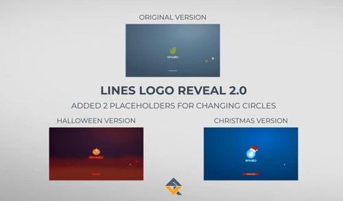 Lines Logo Reveal +Christmas/Halloween ver 20982099