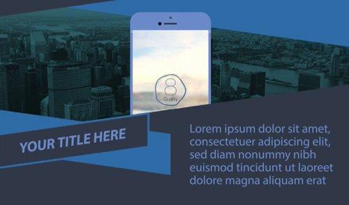 Parallax Mobile App Promo 10243819