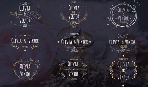 9 Elegant Wedding Labels 201217