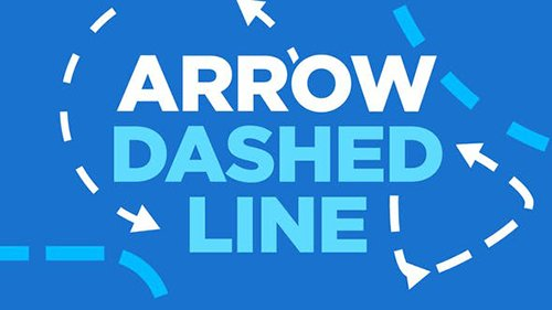 VH - Arrow Dashed Line 22741846