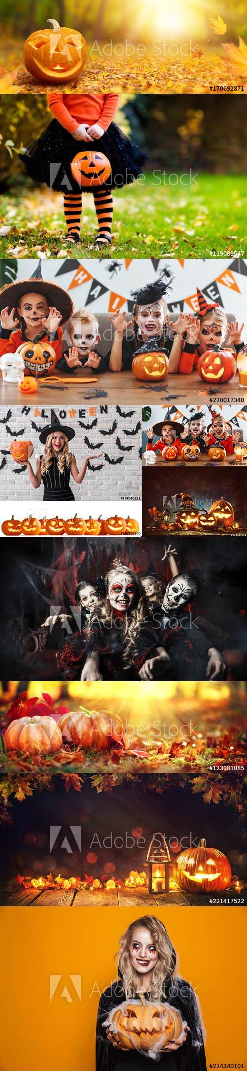 Halloween Background set vol1