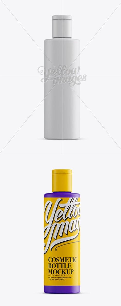 Matte Plastic Bottle With Flip-Top Mockup 12820 TIF