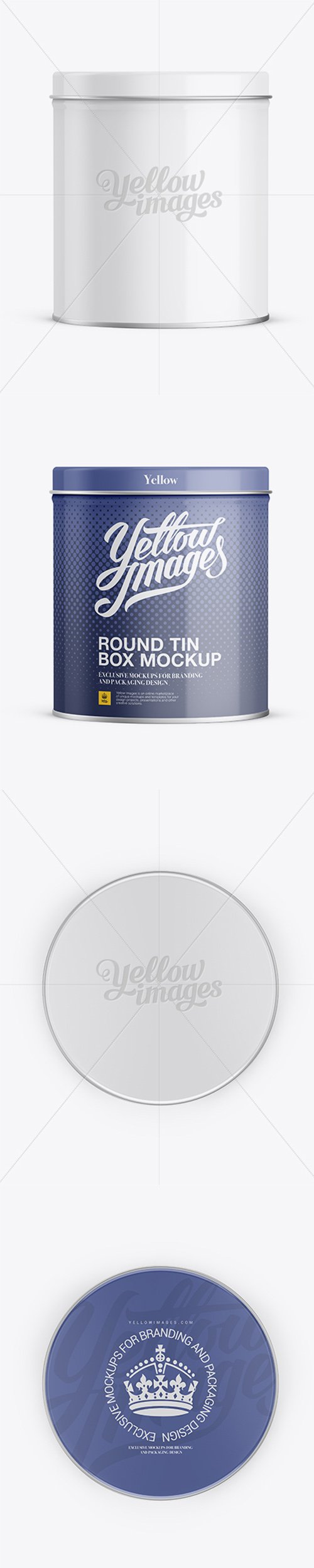 Small Round Tin Box Mockup 11830 TIF