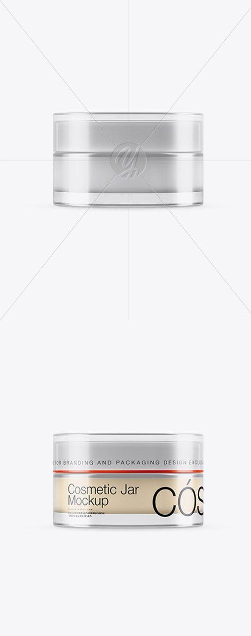 15ml Transparent Cosmetic Jar Mockup 25311 TIF