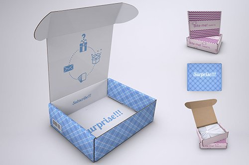 Subscription Box Mock-Up