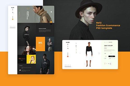 Ne12 - Fashion Ecommerce PSD template