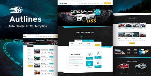 ThemeForest - Autlines v1.0 - Autodealer HTML Template - 23907419