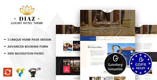 ThemeForest - Diaz v1.7 - Hotel WordPress - 21176090
