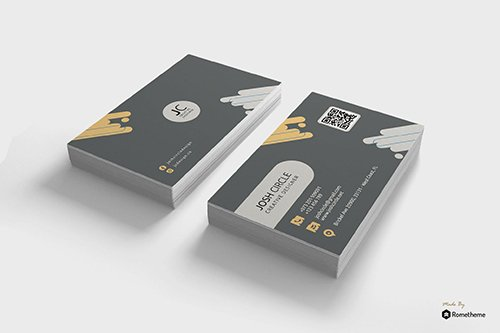 Circle - Creative Business Card Template