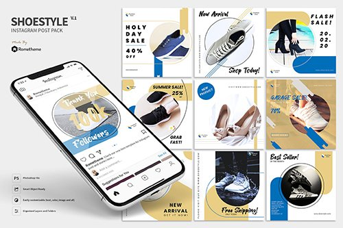 ShoeStyle Product - Instagram Post Pack