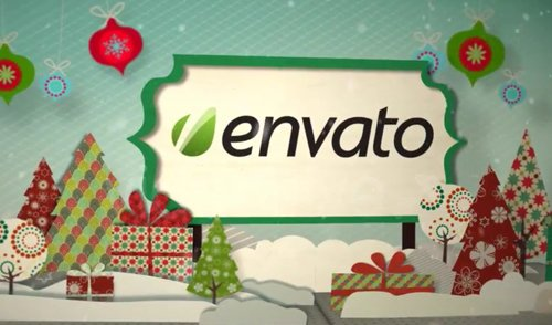 Holiday Pop Up Book Logo Opener 756013