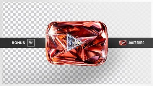 VH - Youtube Crystal Play Button 24338582
