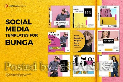Bunga Media Banners