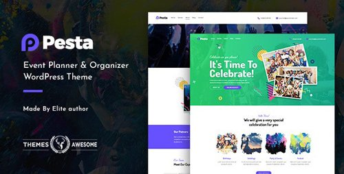 ThemeForest - Pesta v1.1 - Event Planner & Organizer WordPress Theme - 22333697