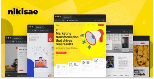 ThemeForest - Nikisae v1.0 - Digital Marketing Agency HTML Template - 24493546
